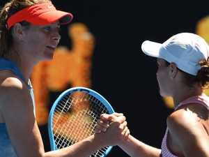 Sharapova: 'Brilliant' Barty can go all the way