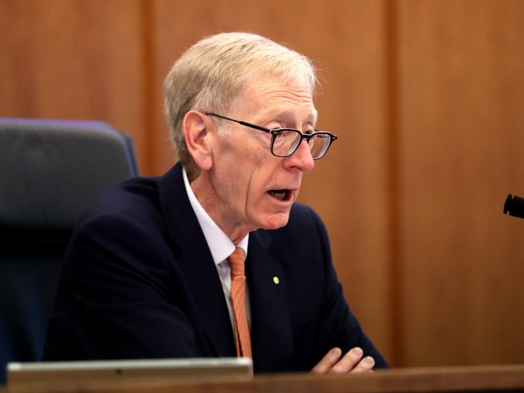 Kenneth Hayne is due to hand his report to the Governor-General in the next fortnight.  Picture: David Geraghty