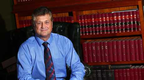 Barrister Chris Garlick at his Southport office. Photo: Kit Wise