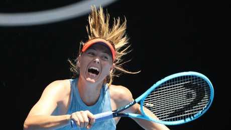 Sharapova was full of praise for her Australian opponent. Picture: Michael Klein