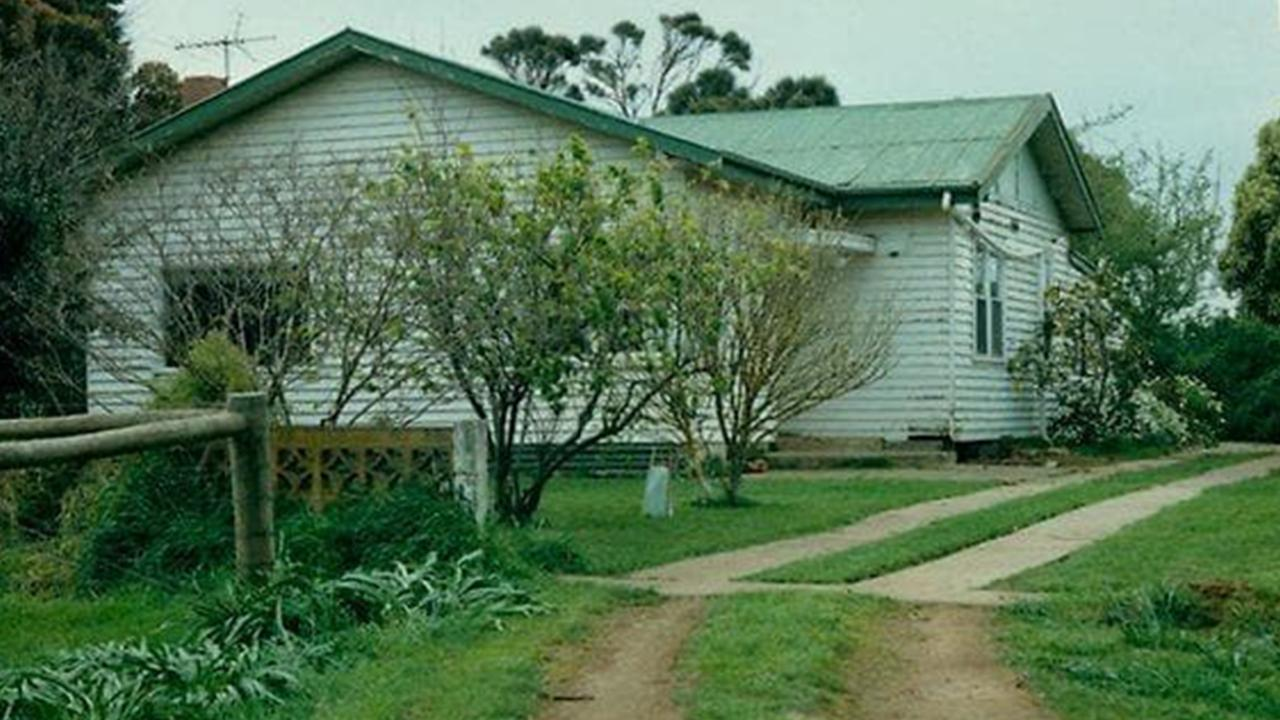 The idyllic setting of Beth Barnard's farmhouse hid the extent of the horror inside. Picture: HWT Library