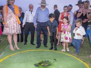 Yabby races proved a hit as always.