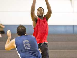 Chris Kita. Trials for Mountaineers 2019 basketball