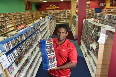 After a decade, Civic Video Nambour will close in the coming weeks, unable to keep business running. Will miss all their amazing customers who became friends.Business owner Suhail Mahadevan is selling all the movies in stock