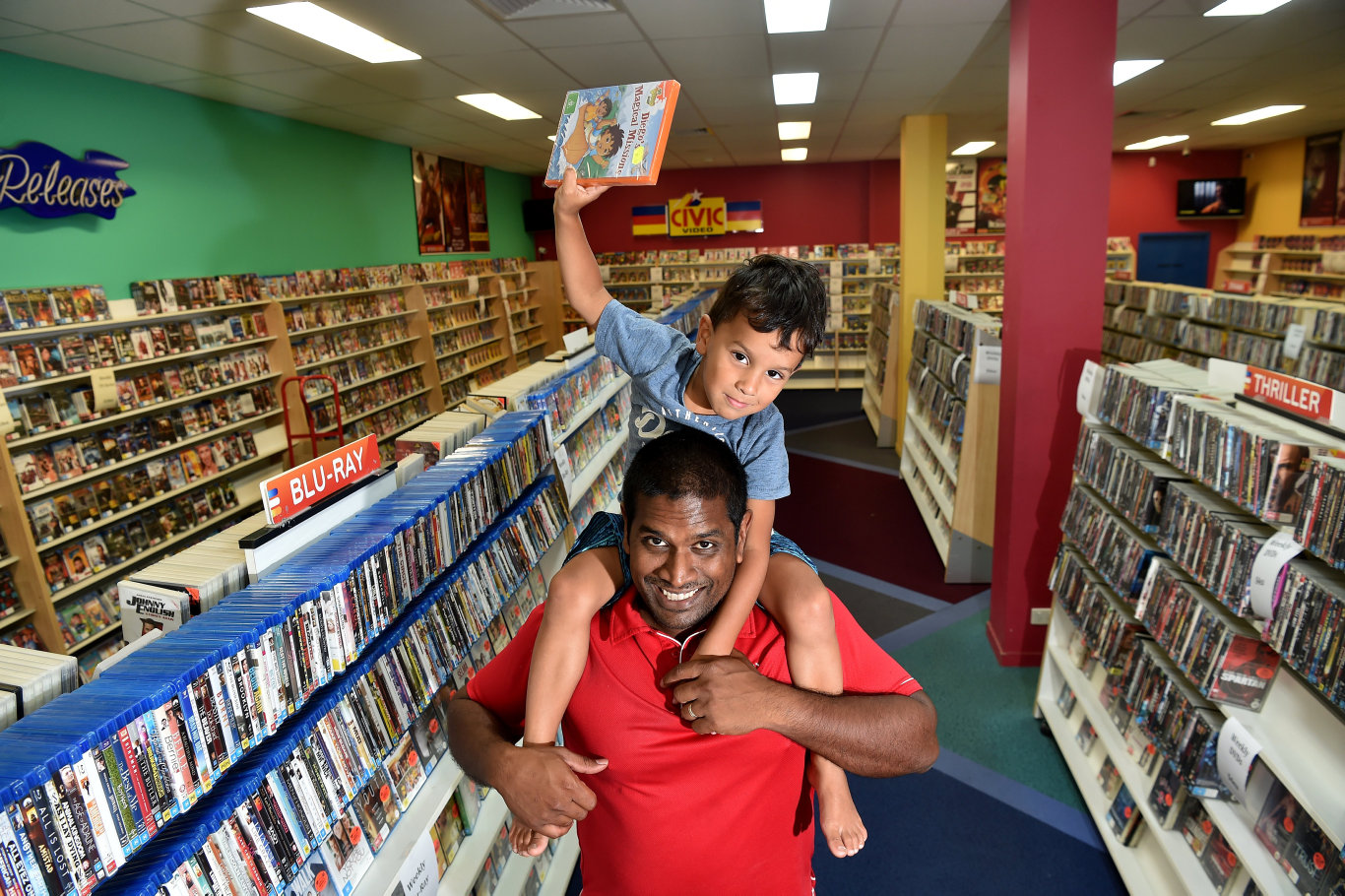 Nambour's last remaining video store will close its doors for good after more than a decade in the community.
