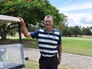 Kevin Law enjoying his last week at the Maryborough