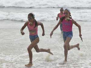 during the Surf Lifesaving Far North Coast junior