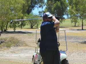 Nathan Landers at the Chinchilla Golf Club.