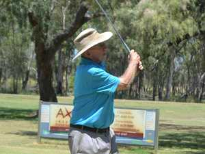 Bill Hughes of Tara at the Chinchilla Golf Club.