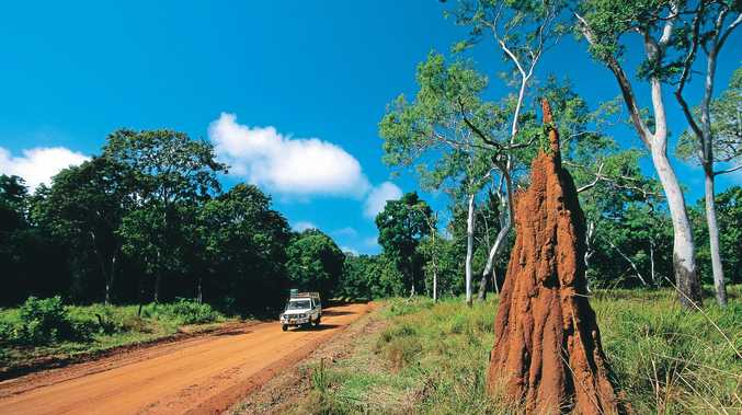 CAPE FISHING: Cape York is 4WD territory.