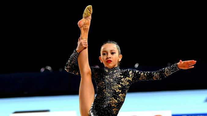 Li-lou Burns Gillet from Sunshine Coast Rhythmic Gymnastics (Caloundra).