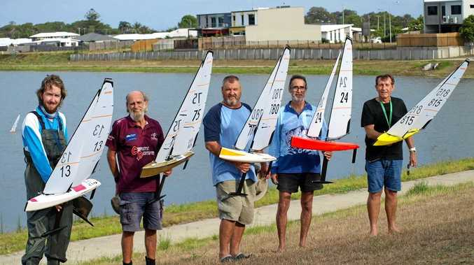 PLENTY ON: Whitsunday Model Boat Club members will race their model boats at Whitsunday Sailing Club on Australia Day.