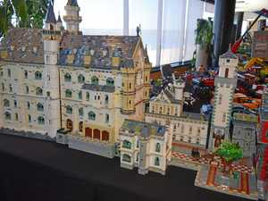 80,000 bricks and six months: History of amazing Lego castle