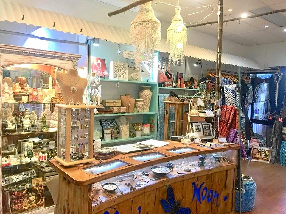 WELCOME: Agnes Water gift and clothing store Kachina Moon has built a circle of support after 14 years running.