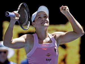 Barty proves an outstanding role model for young players