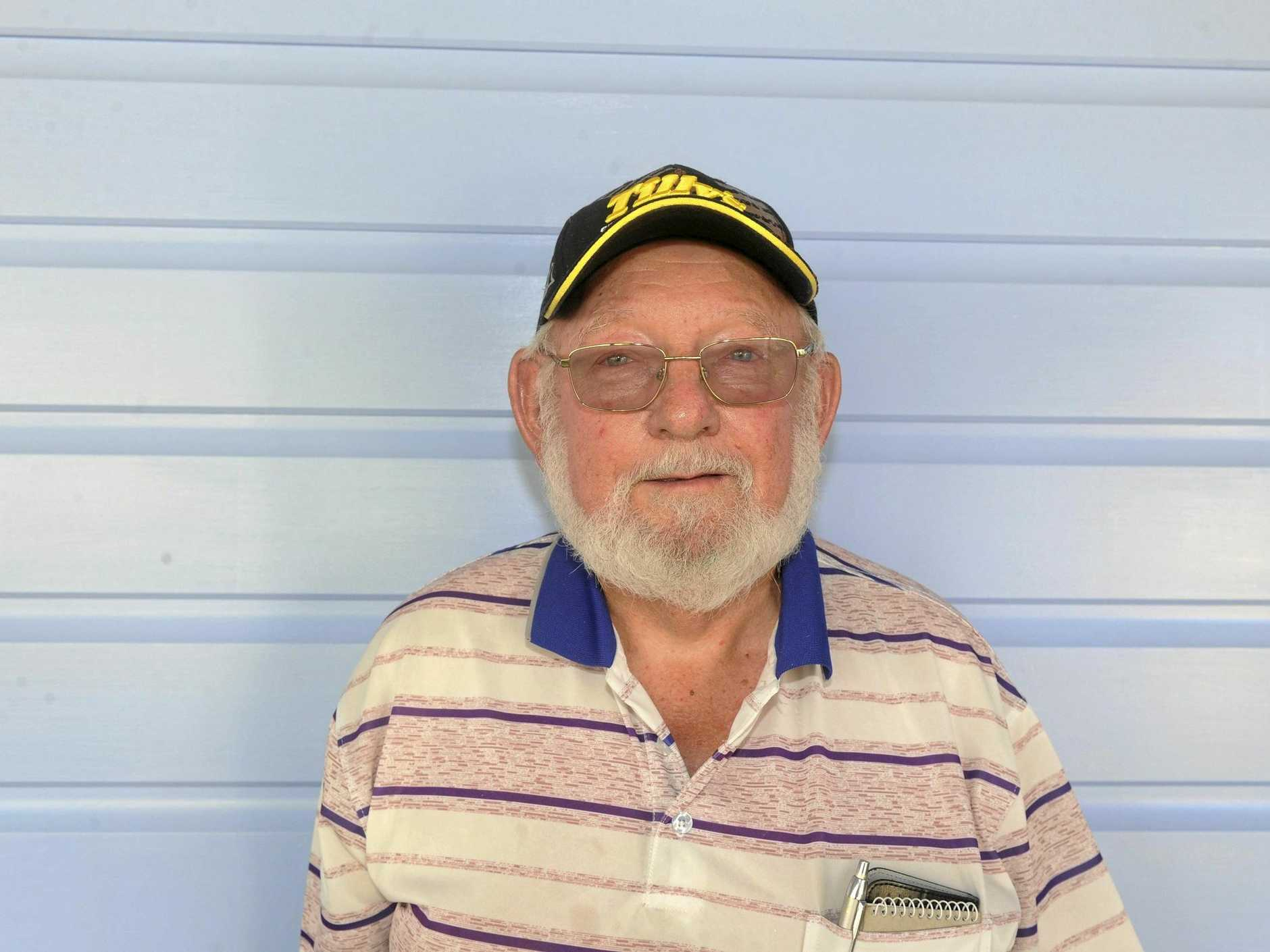 Don Frame, who was a pupil at Copmanhurst Public School for 3 years.