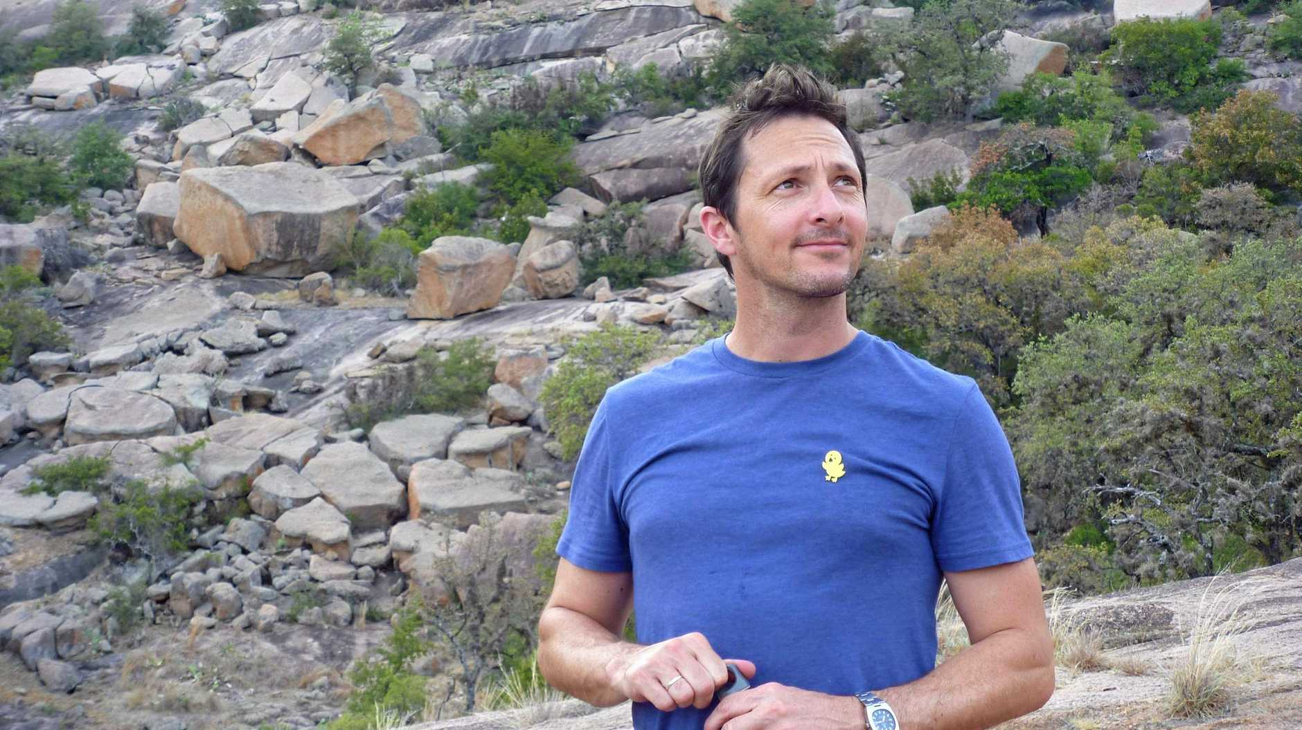 UNDER FIRE: Ecology Professor Brendan Wintle has the fate of the Carmichael mine in his hands.