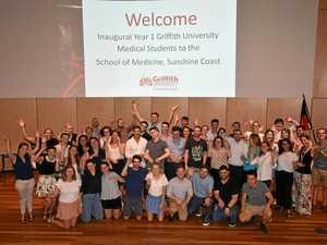Meet the future: Next-gen doctors leap into medical school