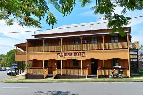 Yandina Hotel is the oldest pub on the Sunshine Coast.