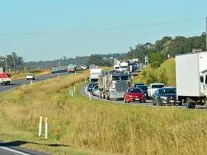 Major delays on Bruce Highway after rollover
