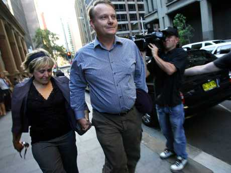 Mandy and Chris Burgess, pictured in 2005, are distressed over the reduction in DL's non-parole period.