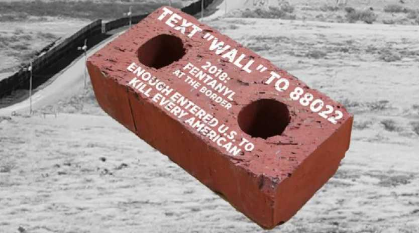 "A controversial ""Send A Brick"" campaign has landed Donald Trump's campaign team in hot water."