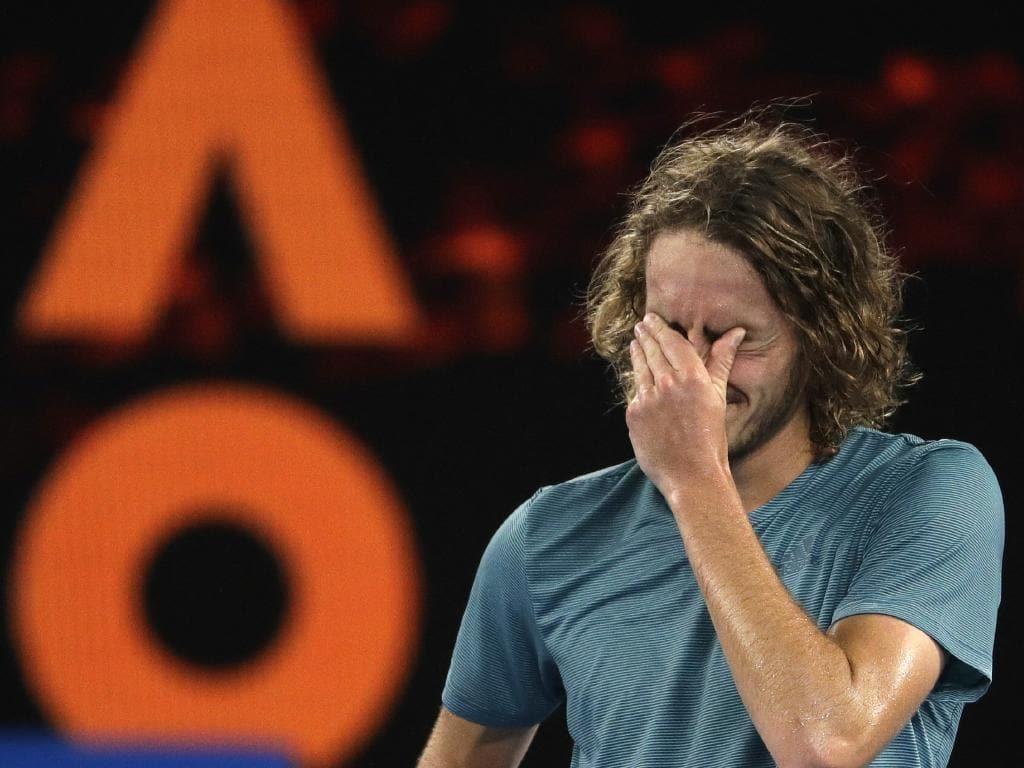 Stefanos Tsitsipas's Australian Open run continues.