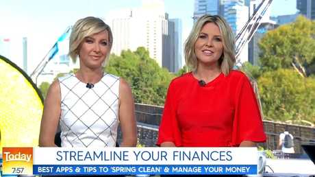 Deborah Knight and Georgie Gardner on the new, Stefanovic-free Today show.
