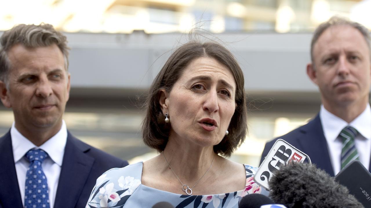 The Berejiklian government is spearheading a massive infrastructure project in Western Sydney which includes $4.9 billion on upgrades. Picture: AAP