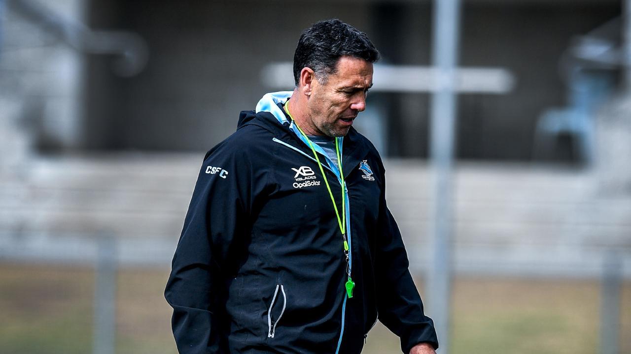 Shane Flanagan has resigned as Cronulla coach. (AAP Image/Brendan Esposito)