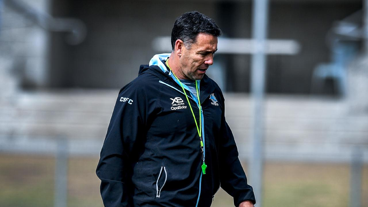 Shane Flanagan has resigned as Cronulla coach. (AAP Image/Brendan Esposito)