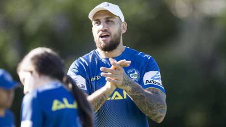 Blake Ferguson has joined the Eels. Picture: Benjamin Cuevas