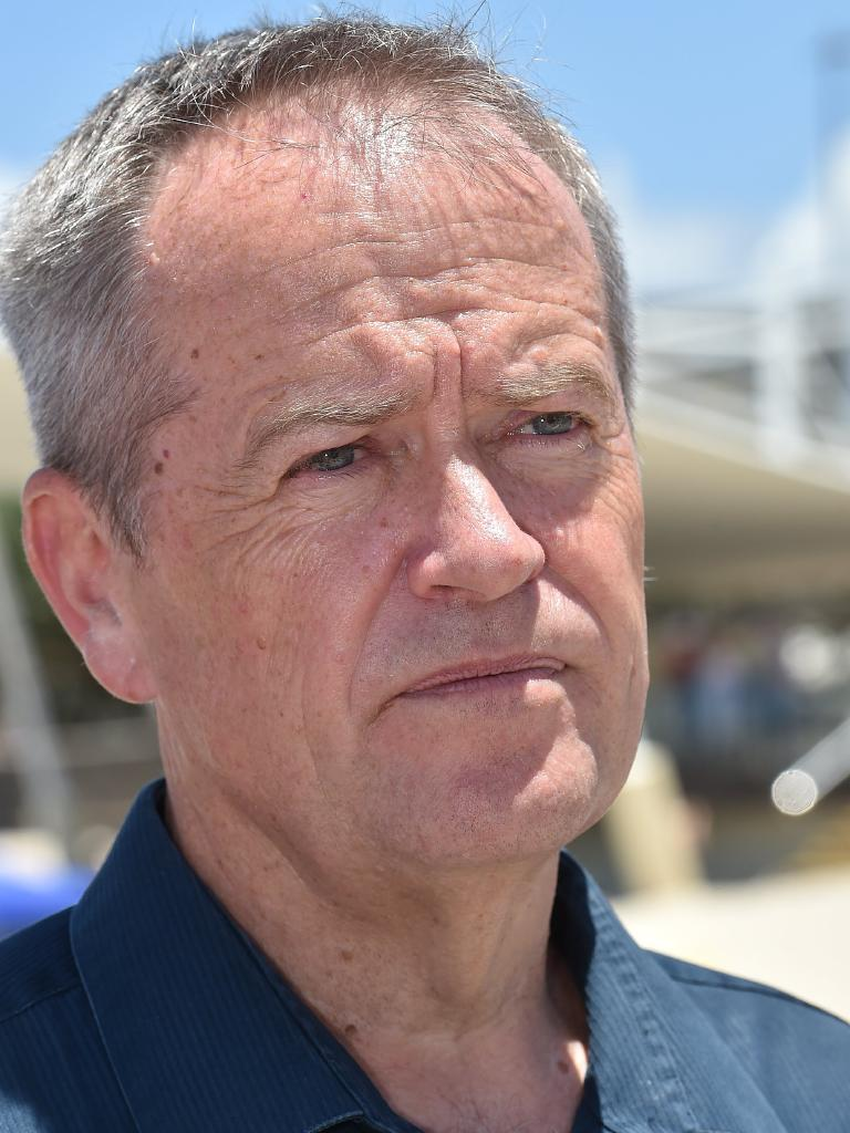While Bill Shorten admitted he had smoked cannabis in his uni days. Picture: Warren Lynam