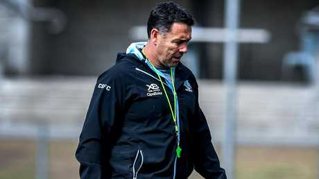 Flanagan has stood down as Cronulla coach. AAP Image/Brendan Esposito.