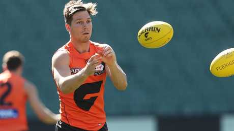 Toby Greene could be a bargain if he's fully fit in Round 1. Picture: Phil Hillyard