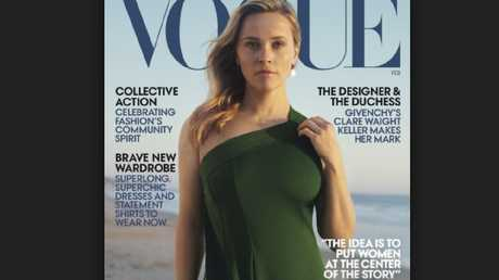 The mistake was made in the February edition of American Vogue. Picture: Supplied