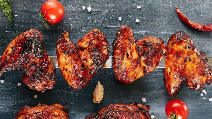 Finger licking tasty chicken wings, with a twist