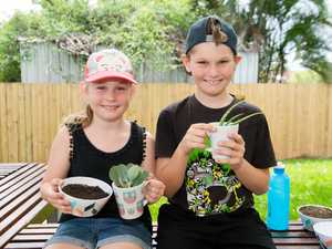 Emily Hammond, 8, named her new plant 'Imali' after