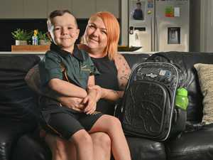 Five-year-old Coen Rule will be attending school at