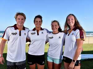 Surf Lifesavers ready for to represent Queensland in