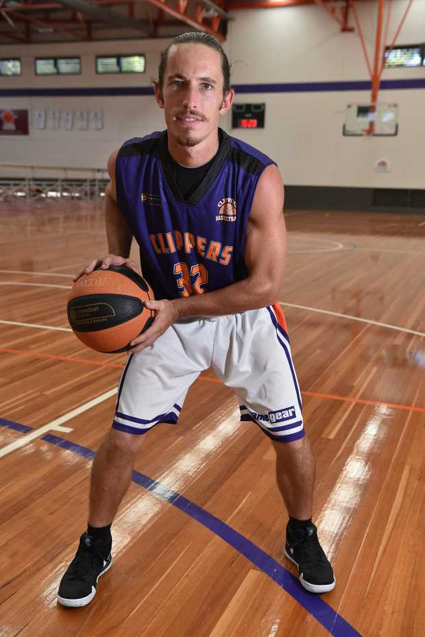 Image for sale: Zeke Meehl ready for the new basketball season with the Sunshine Coast Phoenix.