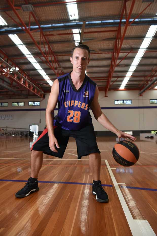 Image for sale: Zane Meehl ready for the new basketball season with the Sunshine Coast Phoenix.