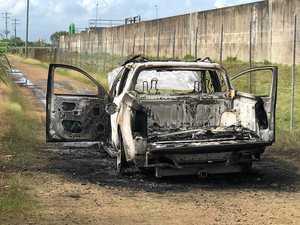 Fourth car found torched in Mackay region in three weeks