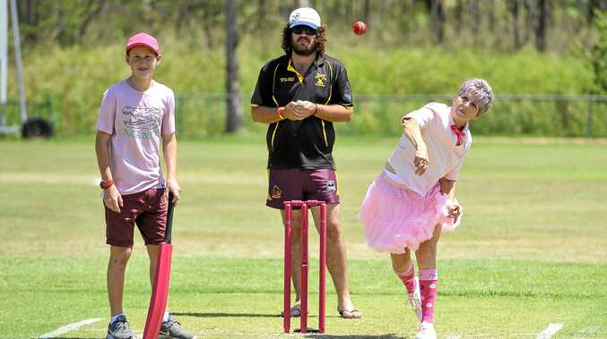 PINK: People are encouraged to get involved in Hivesville's Pink Stumps Day on Sunday.