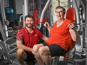Gym workout sees grandmother, 78, ditch walking frame
