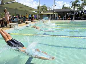 The three options on the table for proposed Tannum pool