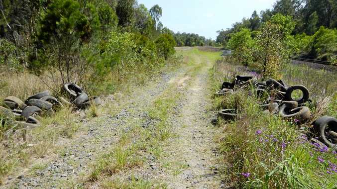 DUMPER: Clarence Valley Council is currently investigating recent illegal dumping of tyres at Lanitza.