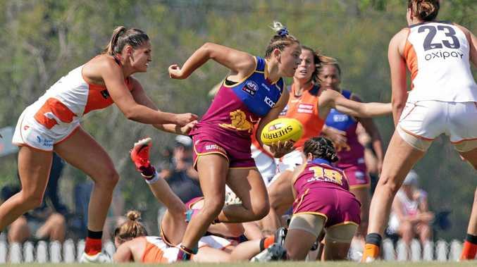 DETERMINED: Brisbane Lions' Megan Hunt is determined to put a disappointing 2018 behind her.