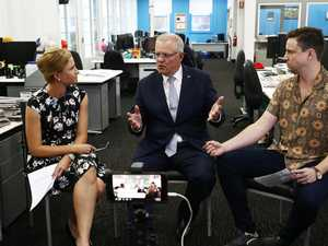 ScoMo in the hot seat in Cairns Post office