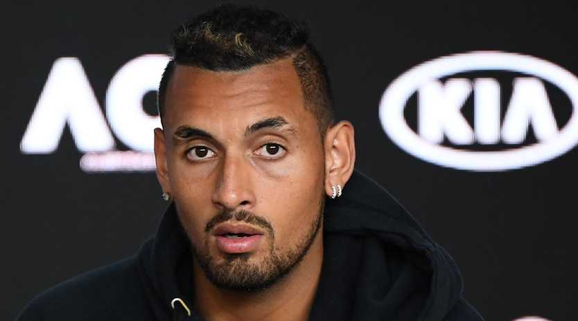 Nick Kyrgios has been left out of the Davis Cup team. (Photo by Quinn Rooney/Getty Images)